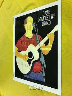 Dave Matthews Band Poster The Gorge 9/1/12 #234/1350