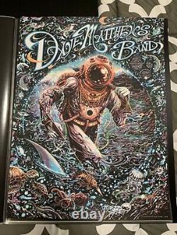 Dave Matthews Band Poster Virginia Beach 2018
