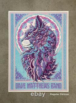 Dave Matthews Band Poster Warehouse Show 11/19/20 LE 10/100