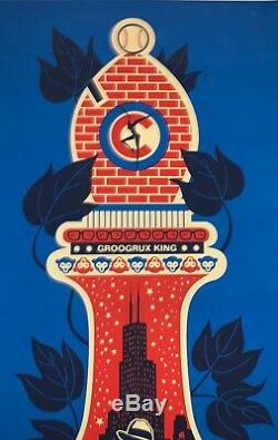 Dave Matthews Band Poster Wrigley Field Chicago 2010 L. E. /1250 Methane 9/17/10