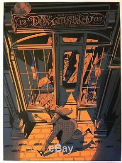Dave Matthews Band Rare Concert Poster London Autographed Artist Print 320/335