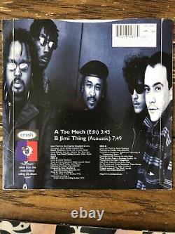 Dave Matthews Band Rare Vinyl Too Much/Jimi Thing 7inch DMB