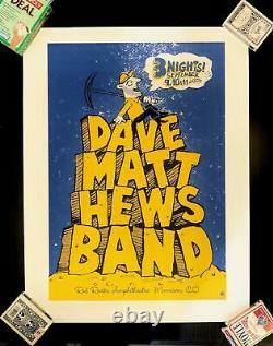 Dave Matthews Band Red Rocks Amphitheater September 2005 DMB Show Poster