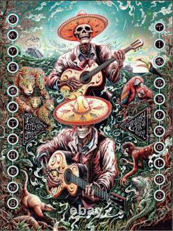 Dave Matthews Band Riviera Maya 2019 by Miles Tsang SIGNED Gig Poster Print Art