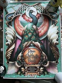 Dave Matthews Band Saratoga Springs Poster SPAC NC Winters DMB 2021 9/18 N2