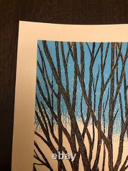 Dave Matthews Band Sold Out Poster Bethel Woods NY 6 19 2019 #/650 DMB MINT