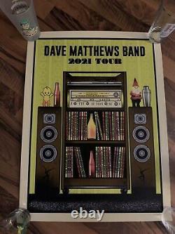 Dave Matthews Band Summer Tour Poster 2021