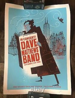 Dave Matthews Band TINLEY PARK ILLINOIS 2006 Poster Signed & Numbered #144/700
