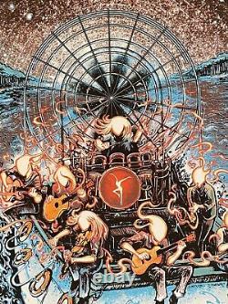 Dave Matthews Band Tampa Poster Miles Tsang Matching Number Set Gid Dawn Variant