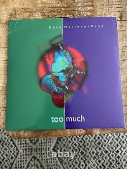 Dave Matthews Band Too Much UK Single. 45rpm 7 Vinyl Record. RARE