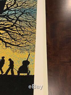 Dave Matthews Band Tree House & Weather vane 2010 Charlottesville Posters Rare