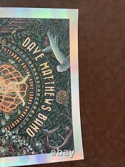 Dave Matthews Band Virginia Beach 2021 Event Poster Luke Martin FOIL 129/135
