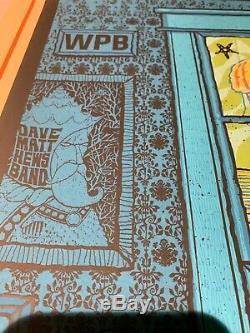 Dave Matthews Band West Palm Beach, FL Tour Poster 07/26/19