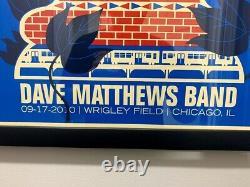 Dave Matthews Band Wrigley Field Poster 09.17.2010 Night 1