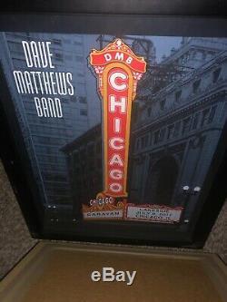 Dave Matthews Band poster Caravan chicago July 8, 2011. Super Rare