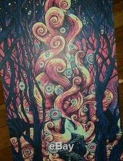Dave Matthews Band poster Gorge 2016 N3 James Eads MINT CONDITION