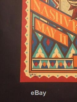 Dave Matthews Band poster Nashville Bridgestone ARENA MINT (In-Hand)