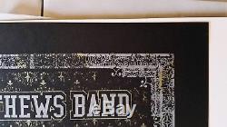 Dave Matthews Band poster New Orleans Saints Skull 2010 Methane Studios AP NM