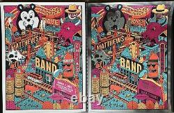 Dave Matthews Band poster Northerly Island Chicago 8/7/2021 Methane Studios