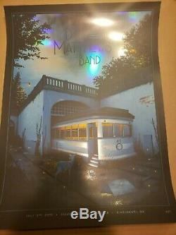 Dave Matthews Band poster Riverbend Cincinnati FOIL Moegly. #/20