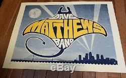 Dave Matthews Band poster Tampa, FL. 2010 Methane Studios AP