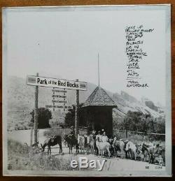 Dave Matthews BandLive Red RocksFactory Sealed SILVER Vinyl RSD 4LP #0356