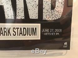 Dave Matthews Hershey Bar Poster Methane Studios 6.27.2008 DMB