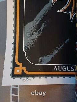 Dave Matthews N2 Noblesville Raven Poster #'d/ 1100