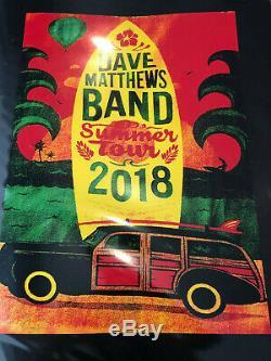 Dave Matthews Summer Tour 2018 Poster #/41