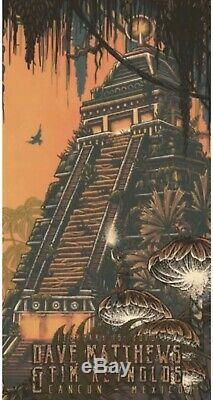 Dave Matthews Tim Reynolds Cancun Mexico Poster N3 Suburban Avenger Print DMB SE