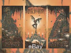 Dave Matthews Tim Reynolds DMB Mexico Cancun Set Poster Print Firedancer Night