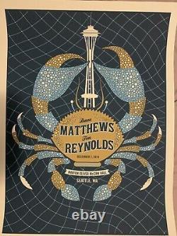 Dave Matthews & Tim Reynolds Poster 12/7/2010 Rare