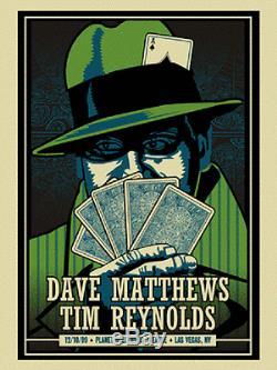 Dave Matthews & Tim Reynolds Poster 2009 N1 Las Vegas NV Signed & Numbered #/750