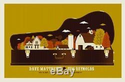 Dave Matthews & Tim Reynolds Poster 2011 Oakdale Theatre CT #/550 Rare