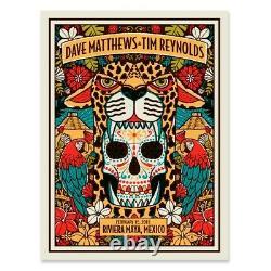 Dave Matthews and Tim Reynolds Poster Riviera Maya Mexico N1 Methane 2/15/19