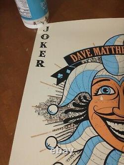 Dave matthews band joker poster gorge