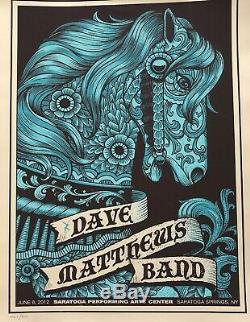 Dave matthews band poster spac N1/2012
