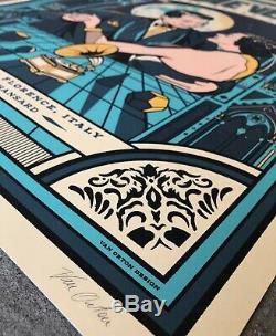 Eddie Vedder Poster Pearl Jam Florence Italy Firenze Rocks 6/15/19 AP S&N/100