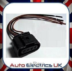 Fits Audi Vw Skoda Seat Ford Ignition Coil Connector Plug Pack Wiring Loom New