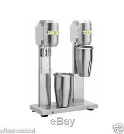 Frappe mixer doppio frullino frullatore professionale art. DMB20