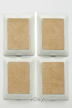 Hermes White Porcelain Ashtray Set