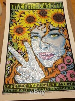 In Hand Chuck Sperry Dave Matthews Band DMB Gorge like wood panel sparkle lava