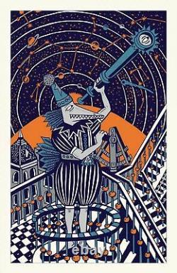 Jim Pollock NEO Print Mars Edition S/N X/525 Poster // DMB Phish