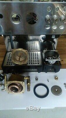La Pavoni Domus Bar DMB Edelstahl 2 Tassen Espressomaschine