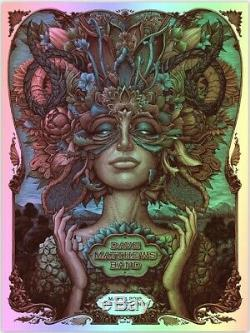 Limited Edition- FOIL Dave Matthews Band Poster N. C. Winters Woodland TX 5/17