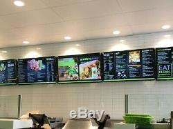 Lot of (2) Digital Menu Board Player With DMB Software for Dynamic Screen