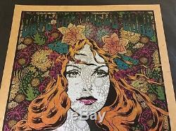 MINT Chuck Sperry Dave Matthews poster Virginia Beach 2015 Parchment Variant