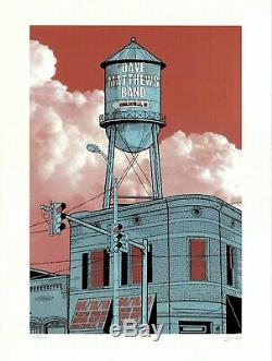 MINT & SIGNED Dave Matthews Band 2010 Noblesville Methane Poster 108/725