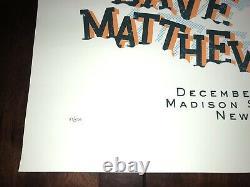 Madison Square Garden Dave Matthews Band Winter Concert Tour 2005 Poster #53/500