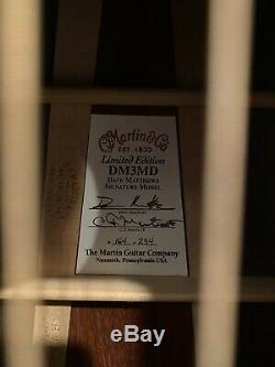 Martin Limited Edition DM3MD Dave Matthews Signature Model Guitar (D-35, D-18)